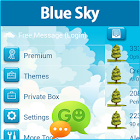 GO SMS Blue Sky Theme icon