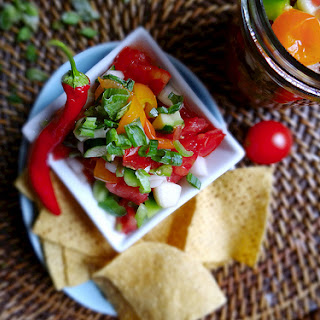Cucumber & Zucchini Summer Salsa