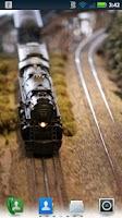 Screenshot of Model Trains Live Wallpaper