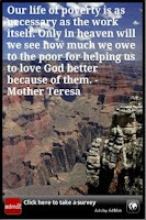Screenshot of Mother Teresa Inspiration