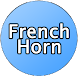 French Horn Button Free