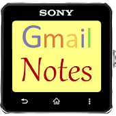 Gmail Notes SmartWatch 2