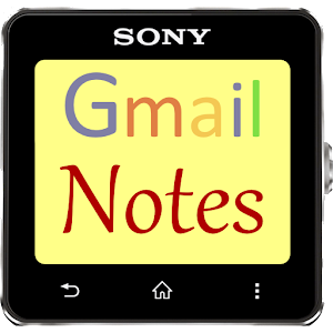 Gmail Notes for SmartWatch Icon