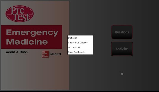 PreTest Emergency Medicine - screenshot thumbnail