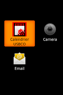 Calendrier USBCO - screenshot thumbnail