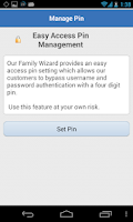 Screenshot of Our Family Wizard Custody App