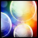 Colorful Bubble Live Wallpaper icon