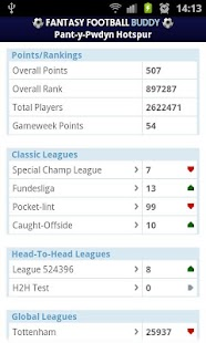 Fantasy Football Buddy - screenshot thumbnail