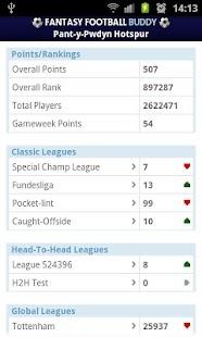 Fantasy Football Buddy - screenshot thumbnail