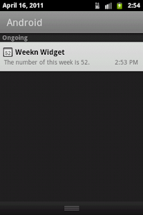 Weekn widget- screenshot thumbnail
