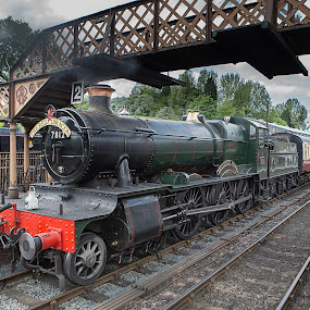 Steam by Andrew Richards - Transportation Trains
