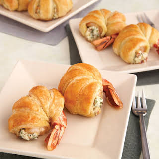 Puff Pastry-Wrapped Jumbo Shrimp.