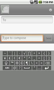 Keysible AlphaNumeric Keyboard screenshot 3