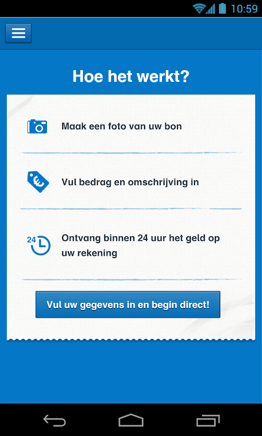 Aegon Bouwdepot App - screenshot