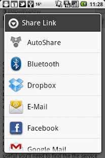 AutoShare - screenshot thumbnail
