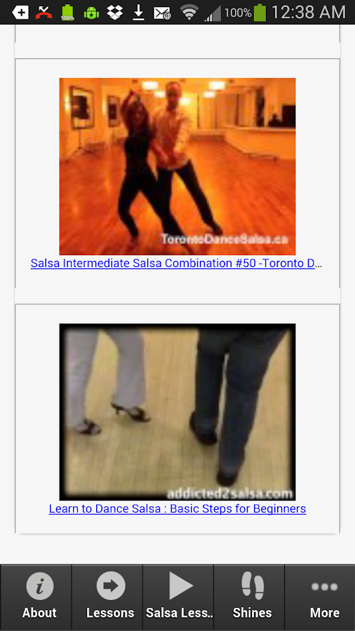 Salsa Dancing Exposed- screenshot