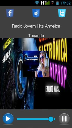 【免費音樂App】Radio Jovem Hits Angelica-APP點子