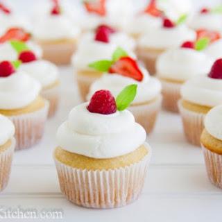 Perfect Vanilla Cupcake.