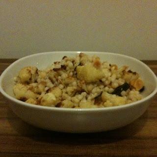 Israeli Couscous With Roasted Cauliflower