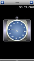 Screenshot of Spin-O-Clock Widget
