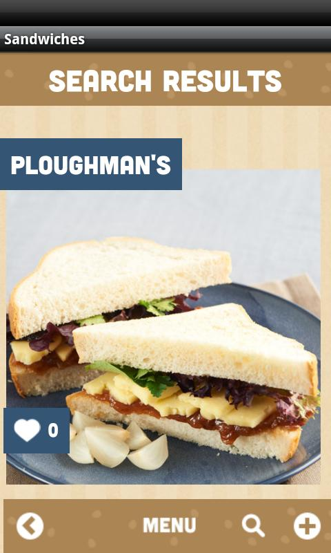 Good Sandwich Pilgrim - screenshot