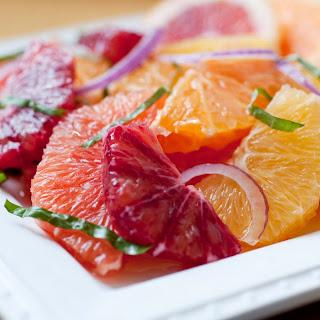 Winter Citrus Salad with Honey Dressing