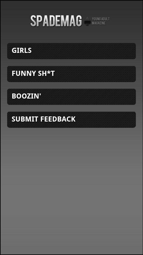 Spade Mag - screenshot