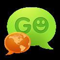 GO SMS Pro Slovak language logo