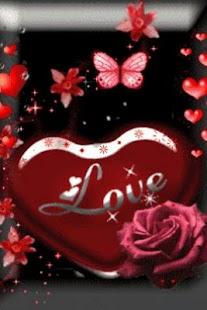 Love Heart Red Live Wallpaper- screenshot thumbnail
