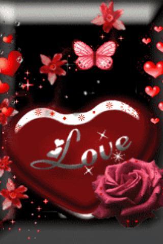 Love Heart Red Live Wallpaper- screenshot