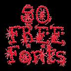 Fonts for FlipFont 50 #10