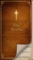 Screenshot of Biblia - Proverbios