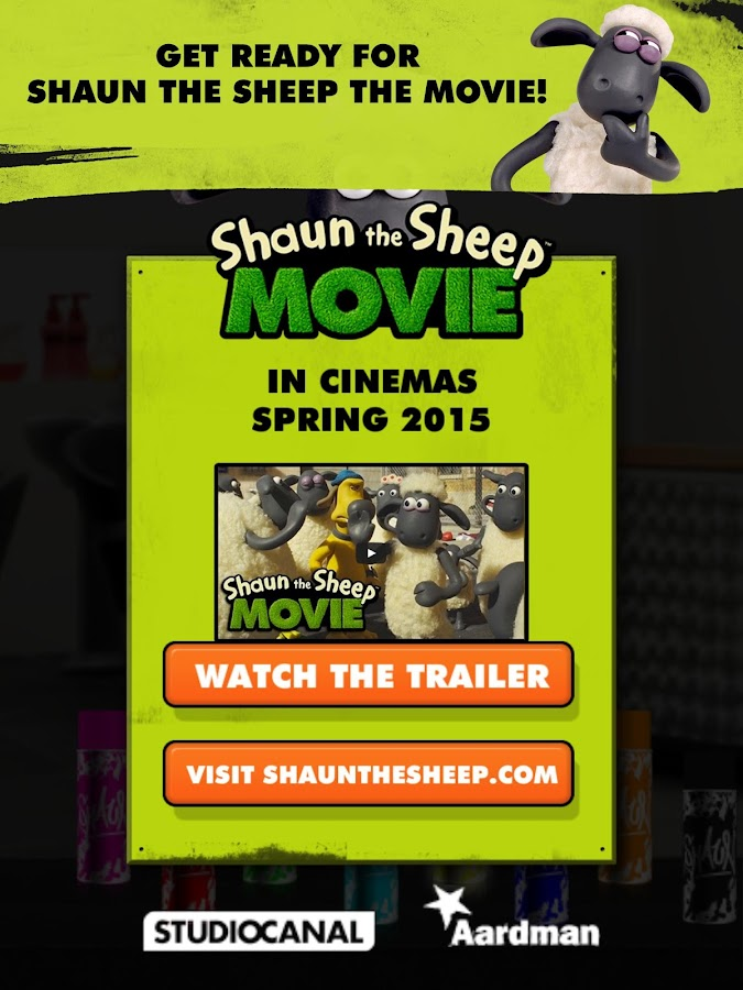 Shaun the Sheep Top Knot Salon- screenshot