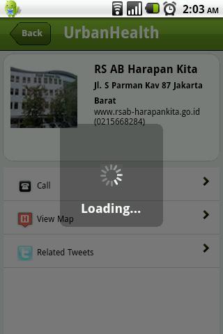 UrbanHealth- screenshot