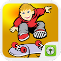 Crazy Skater Go Locker icon