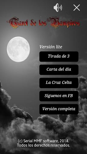 Tarot de los vampiros. Pro.