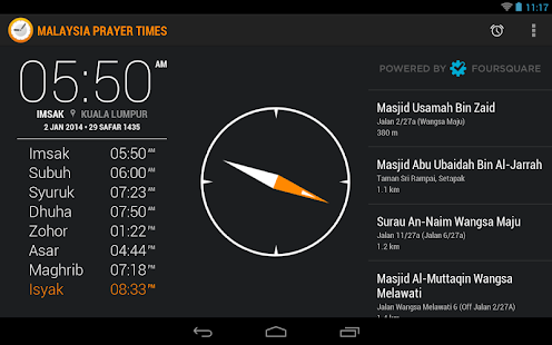 Malaysia Prayer Times- screenshot thumbnail