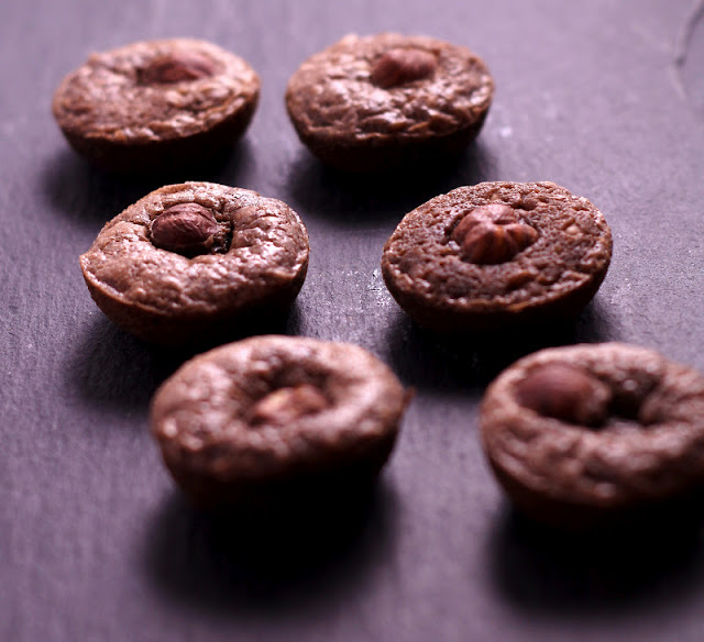 Irresistible Mini Moelleux with Nutella and Hazelnuts Recipe