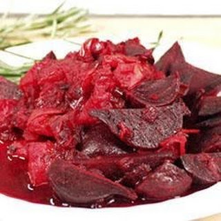 Beets with Onion and Cumin