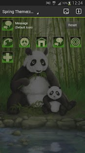 GO Launcher EX Theme Panda - screenshot thumbnail