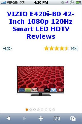 E420i-B0 Smart LED HDTV Review
