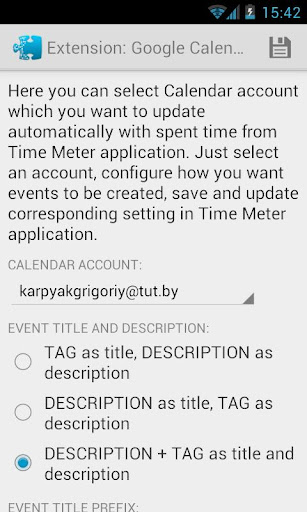 Time Meter Extensions