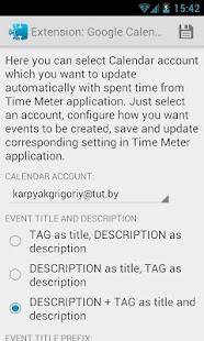 Time Meter Extensions - screenshot thumbnail