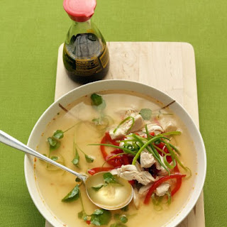 Asian Chicken and Chili Soup.