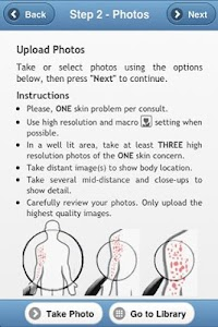 OnlineDermClinic screenshot 2