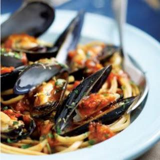 Italian Mussels & Pasta.