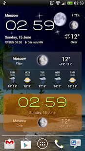 Weather Now Forecast & Widgets- screenshot thumbnail