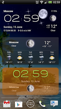 Weather Now Forecast and Widgets