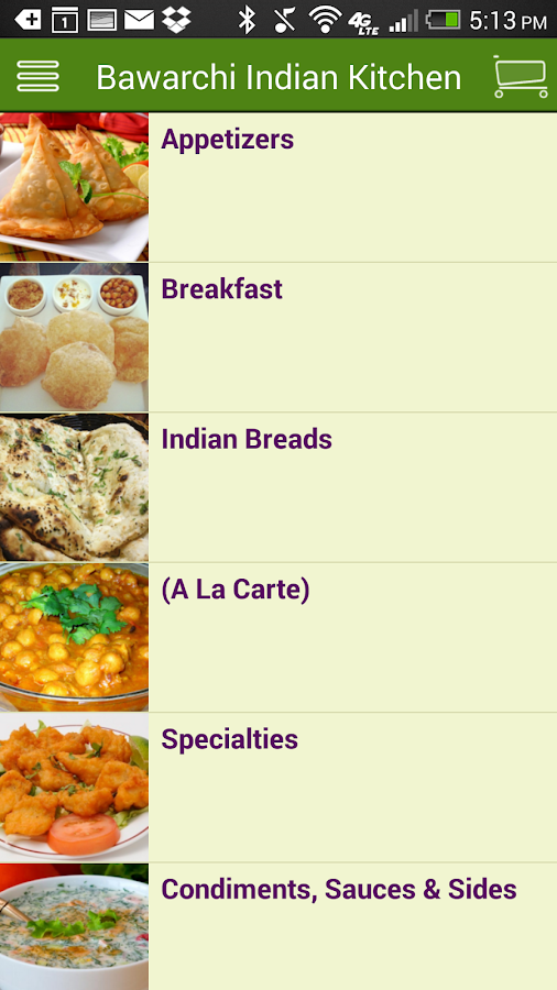 Bawarchi Indian Kitchen Android Apps On Google Play