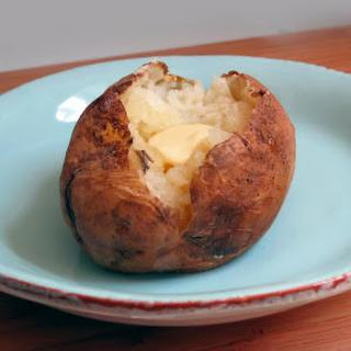 Pressure Cooked Baked Potatoes